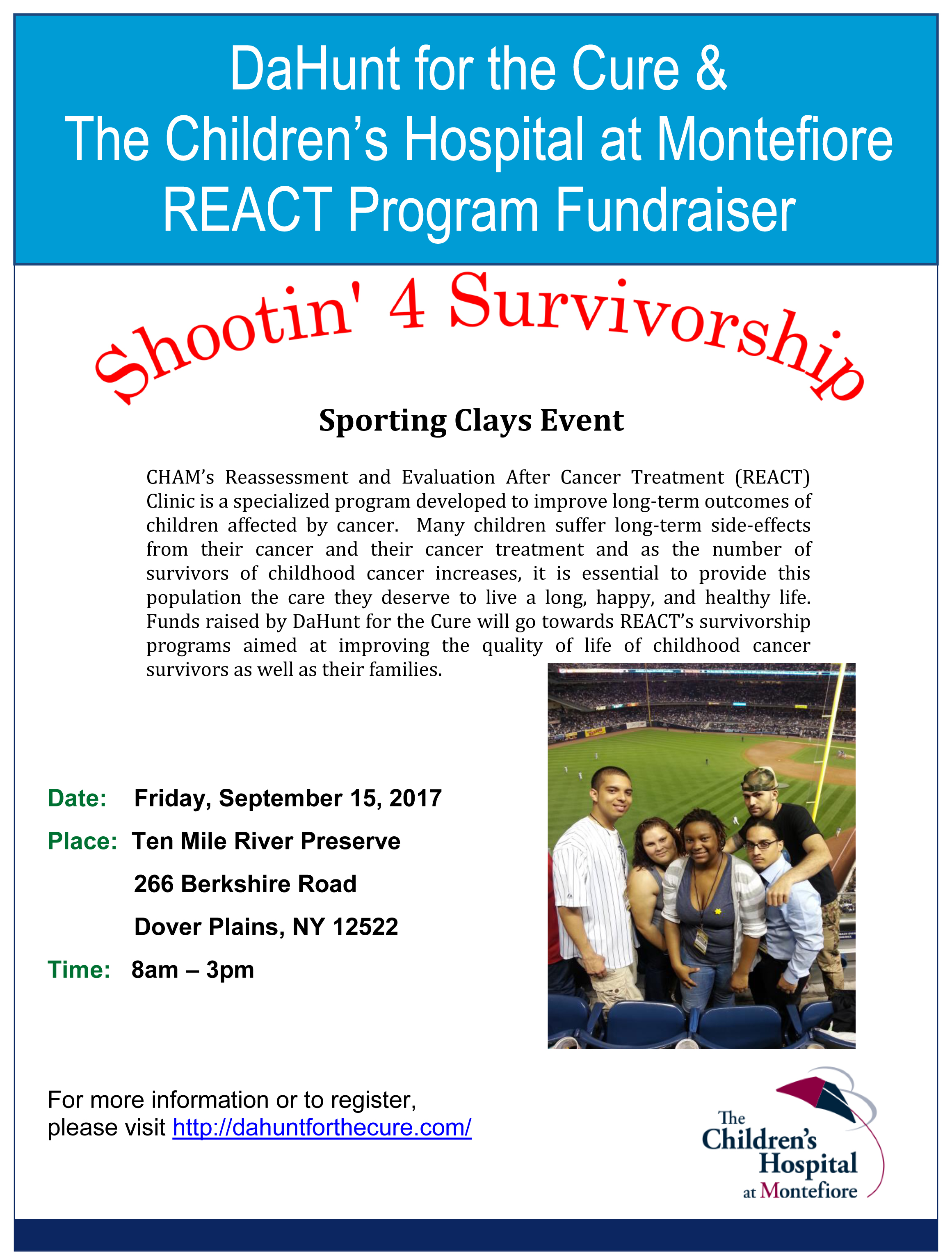2017 DaHunt for the 8th Annual Sporting Clays Charity Shooting Event